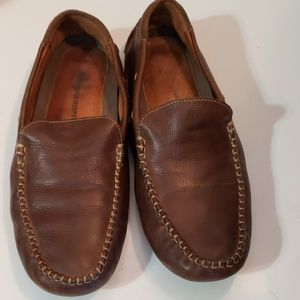 Johnston & Murphy Brown Leather Loafers